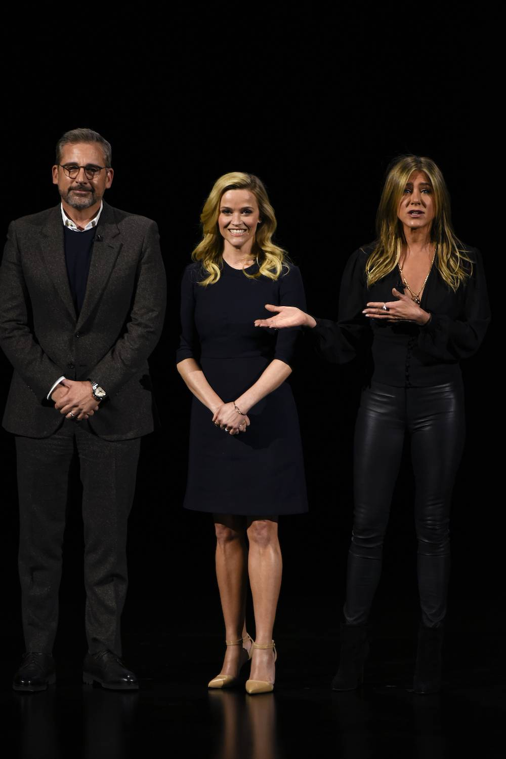 Jennifer Aniston, Reese Witherspoon i Steve Carell (Fot. Getty Images)