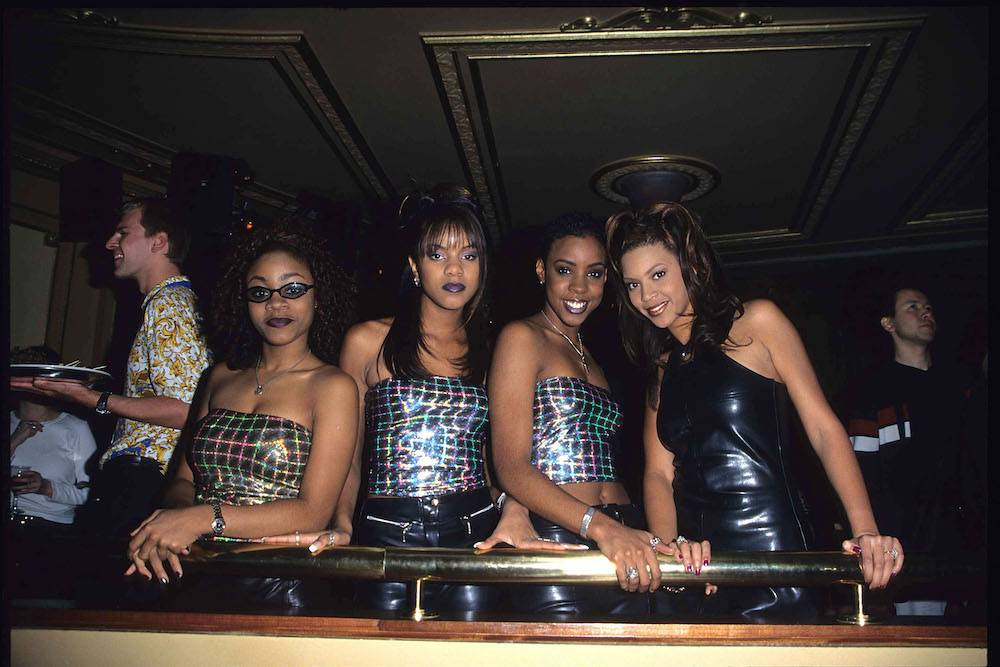 Destinys Child w 1998 roku (Fot. Getty Images)