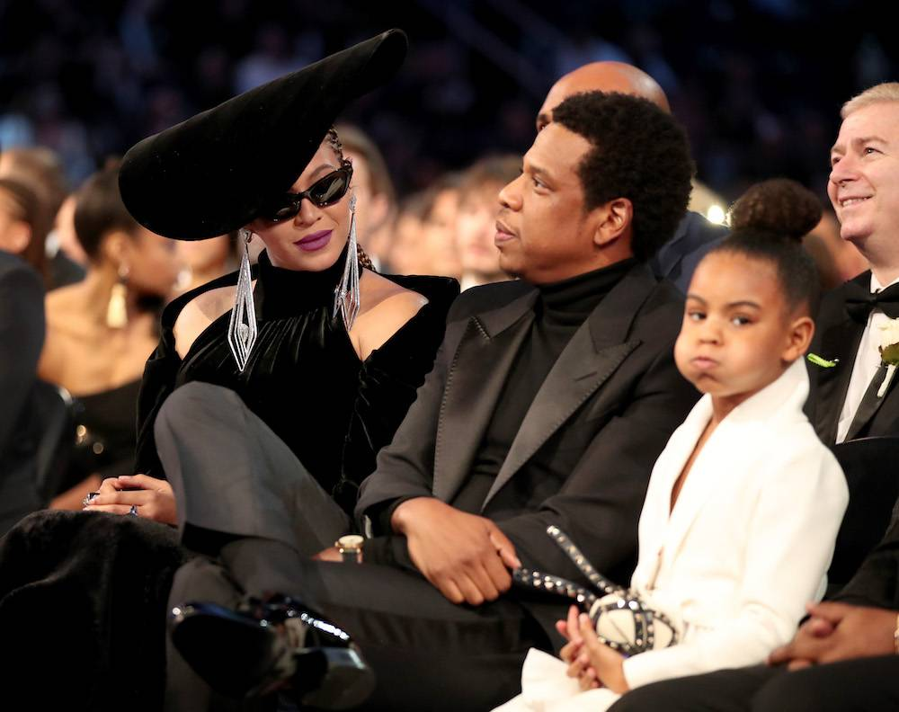 Z Jayem-Z i Blue Ivy (Fot. Getty Images)