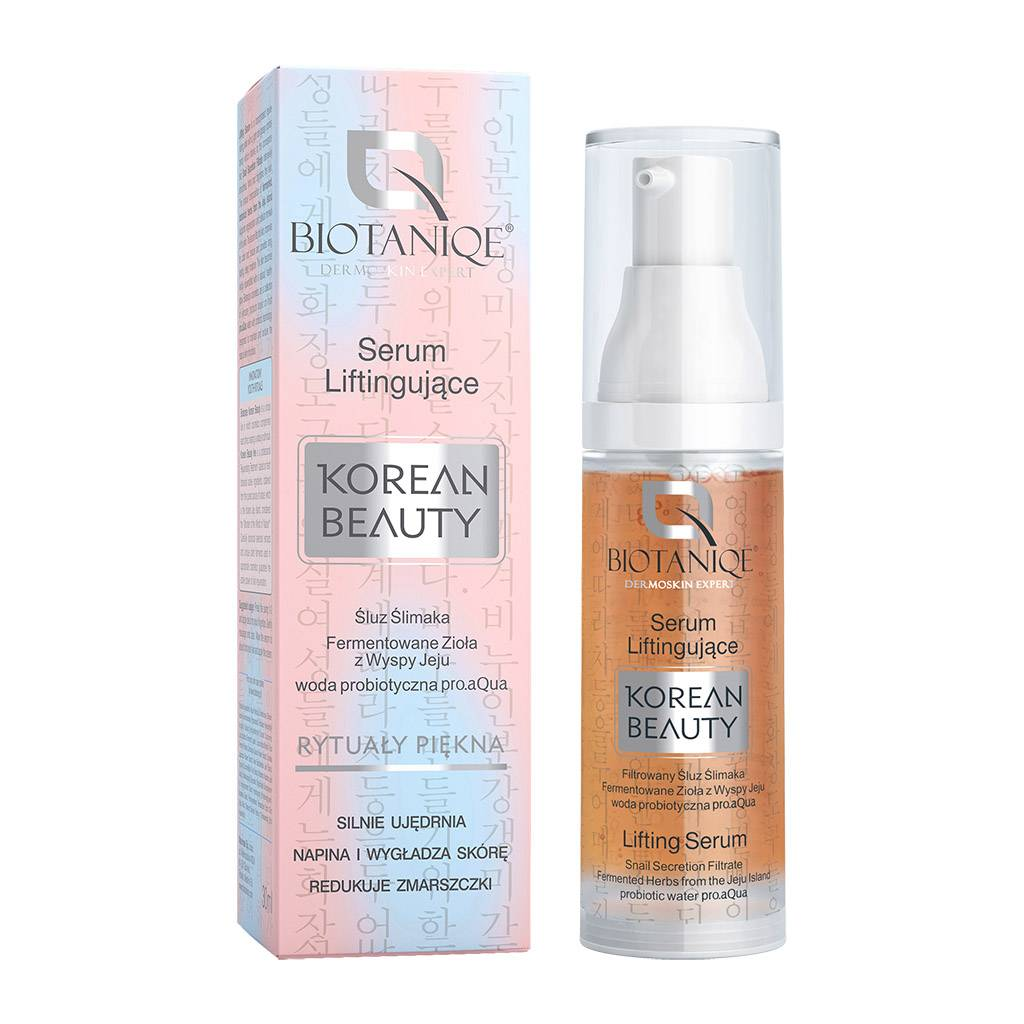 Biotaniqe Korean Beauty Serum Liftingujące