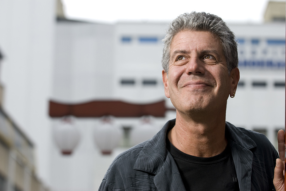 Anthony Bourdain / Fot. Paulo Fridman, Getty Images)