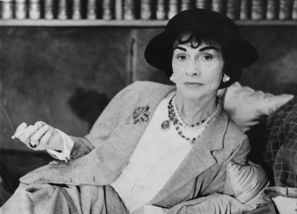 Coco Chanel (Fot. Evening Standard/Hulton Archive/Getty Images)