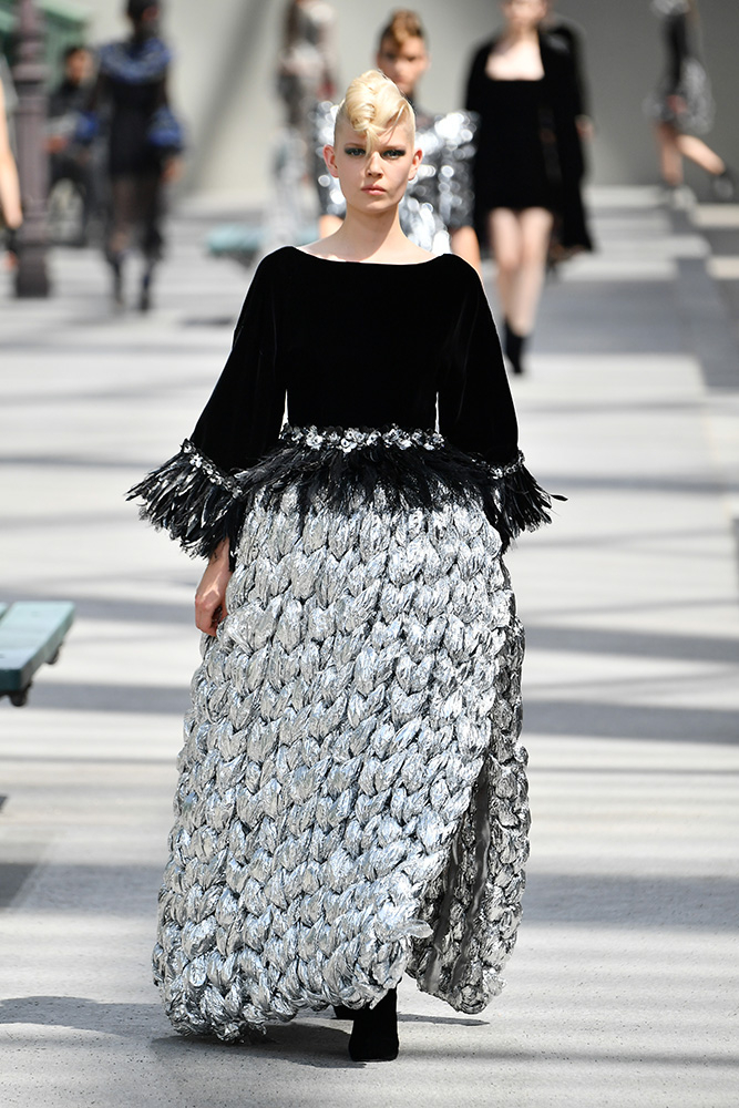Pokaz Chanel haute couture jesień-zima 2018 (Fot. Getty Images)