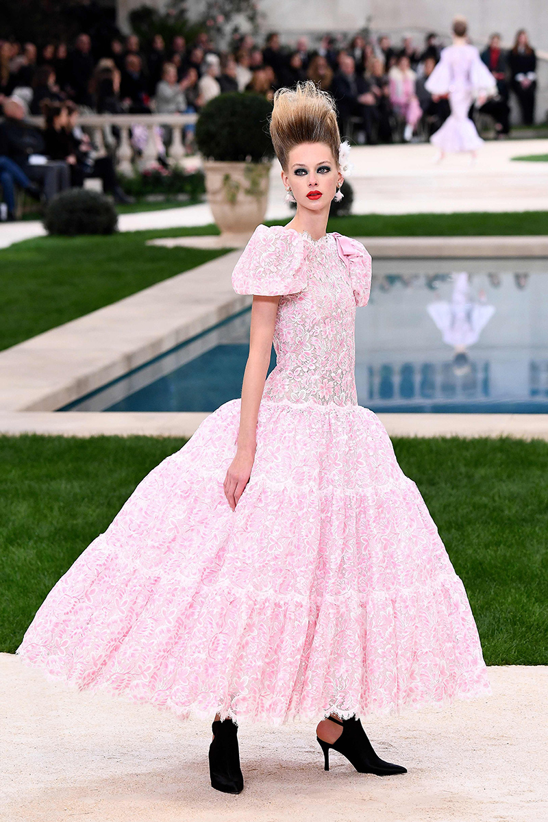 Chanel haute couture wiosna-lato 2019 (Fot. East News)