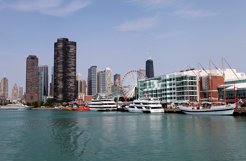 Navy Pier (Fot. Raymond Boyd, Getty Images)