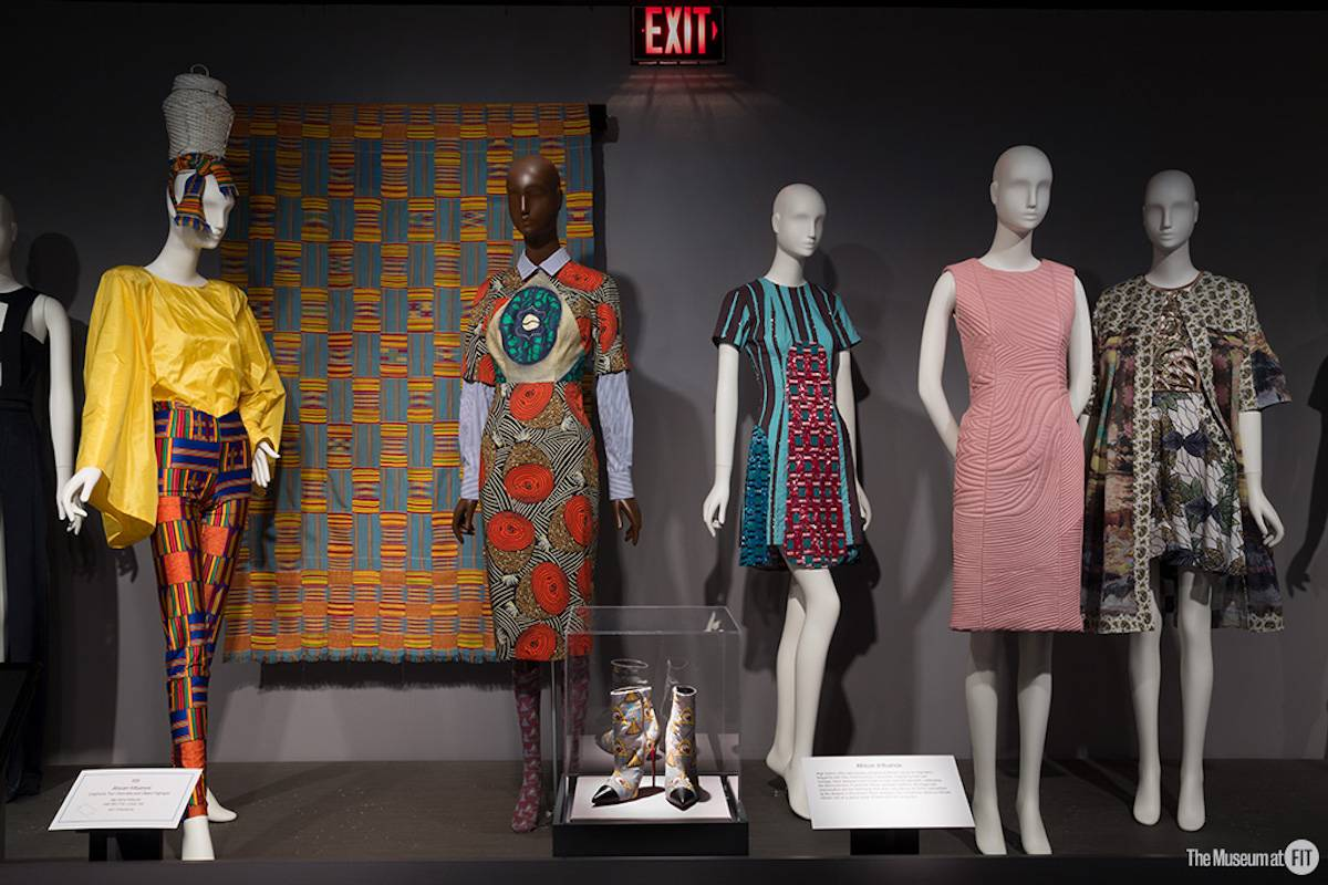 Black Fashion Designers installation (Fot. Eileen Costa, The Museum at FIT)