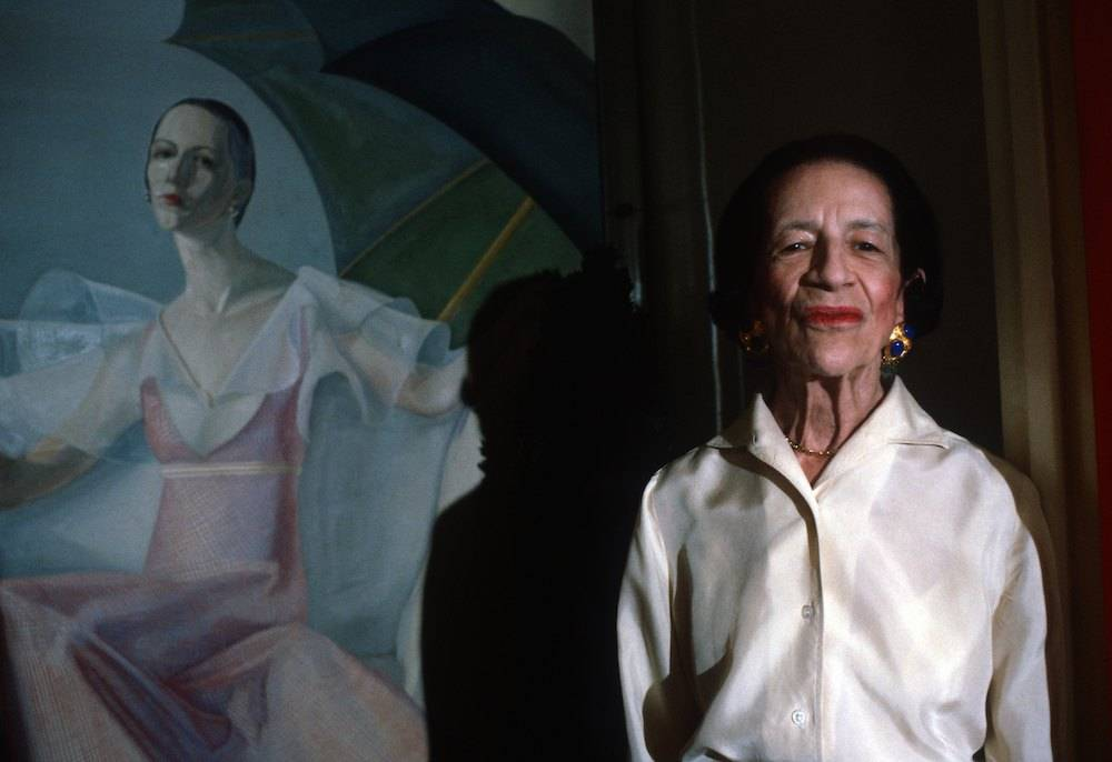 Diana Vreeland (Fot. Getty Images)