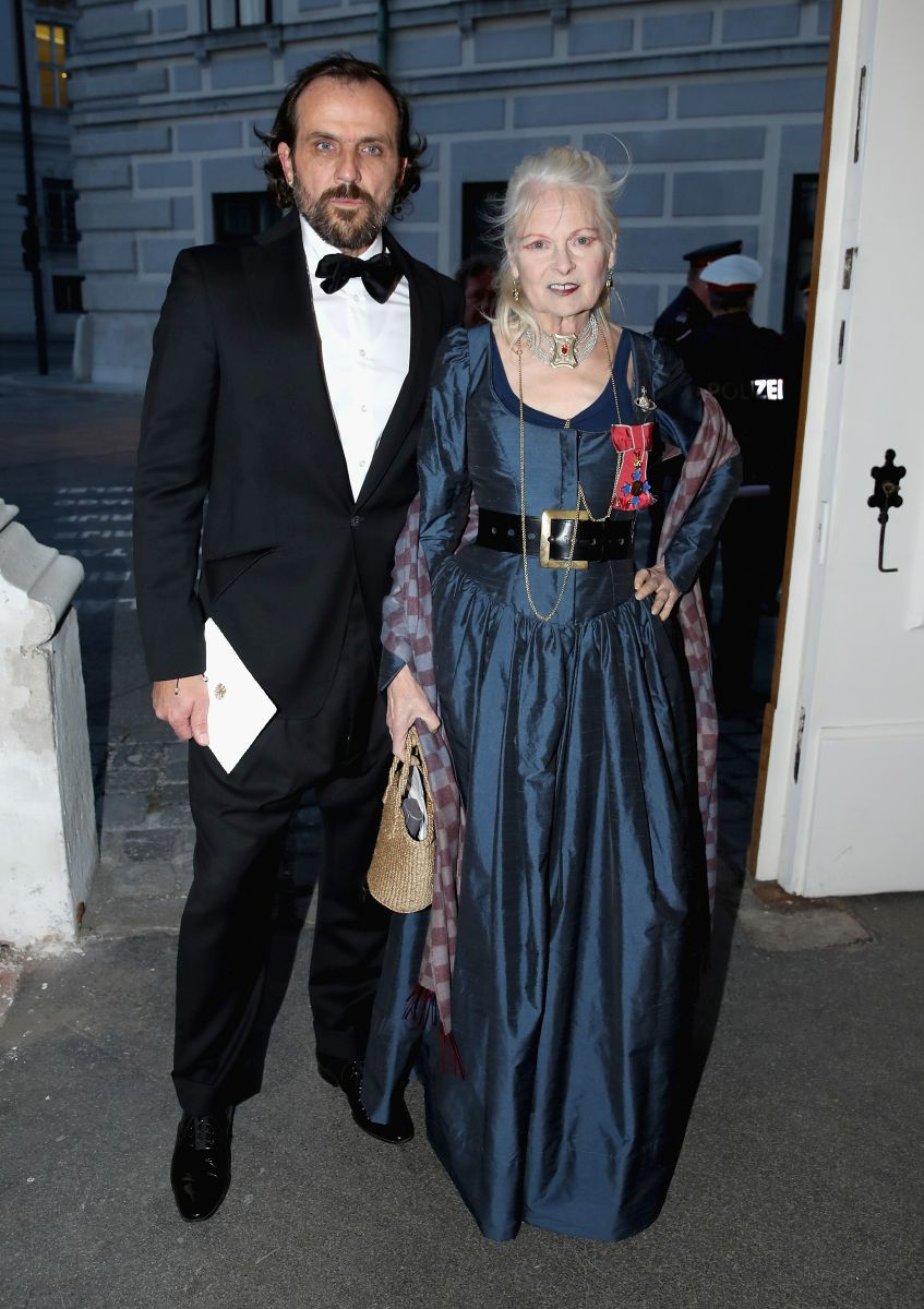 Vivienne Westwood i Andreas Kronthaler (Fot. Chris Jackson / Getty Images)
