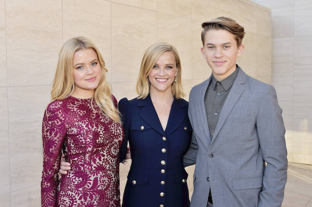 Reese Witherspoon z Avą i Deaconem (Fot. Getty Images)
