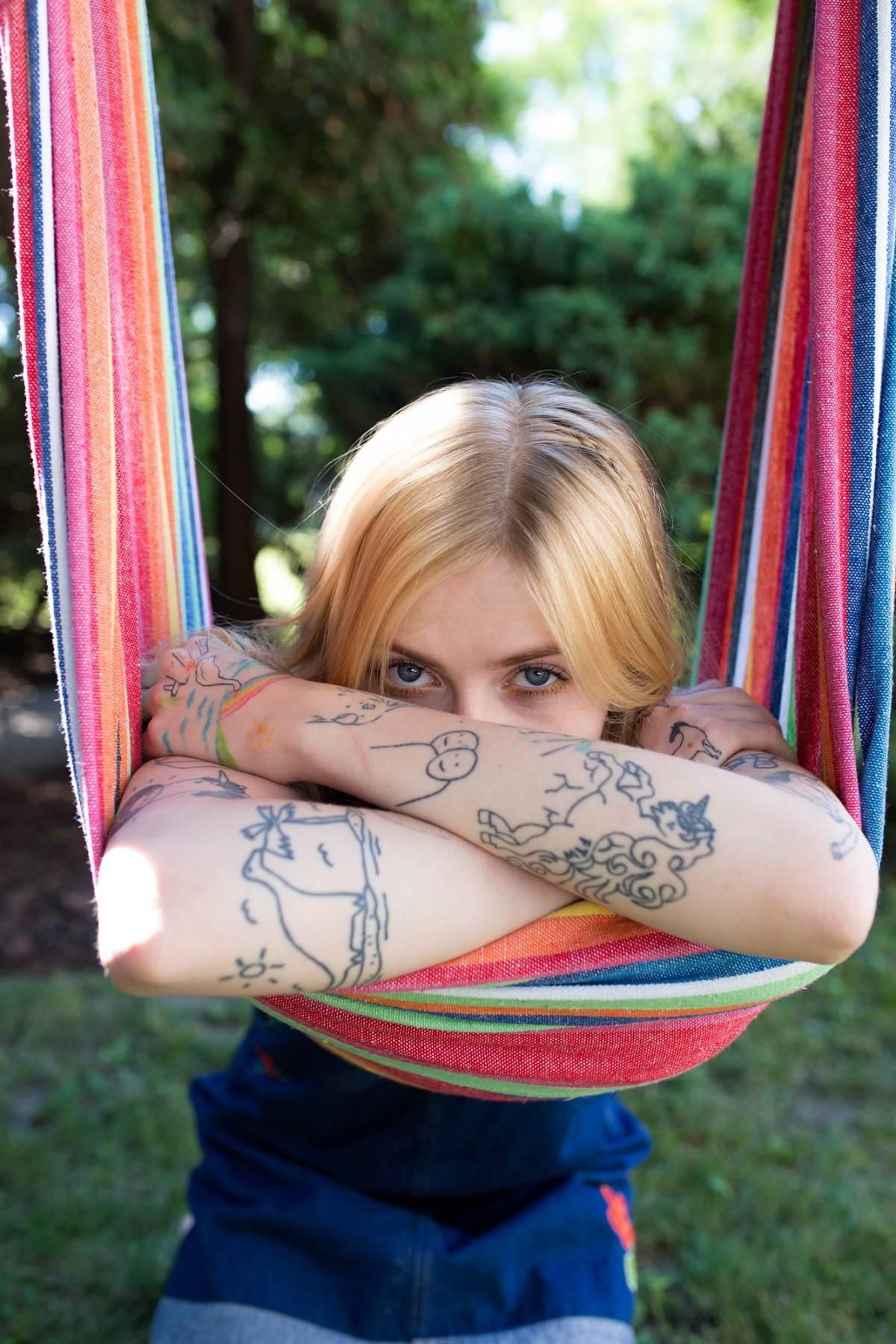 Tatuaż Z Tęczą