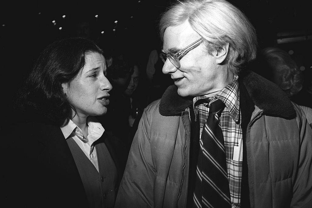 Fran Lebowitz i Andy Warhol (Fot. Getty Images)