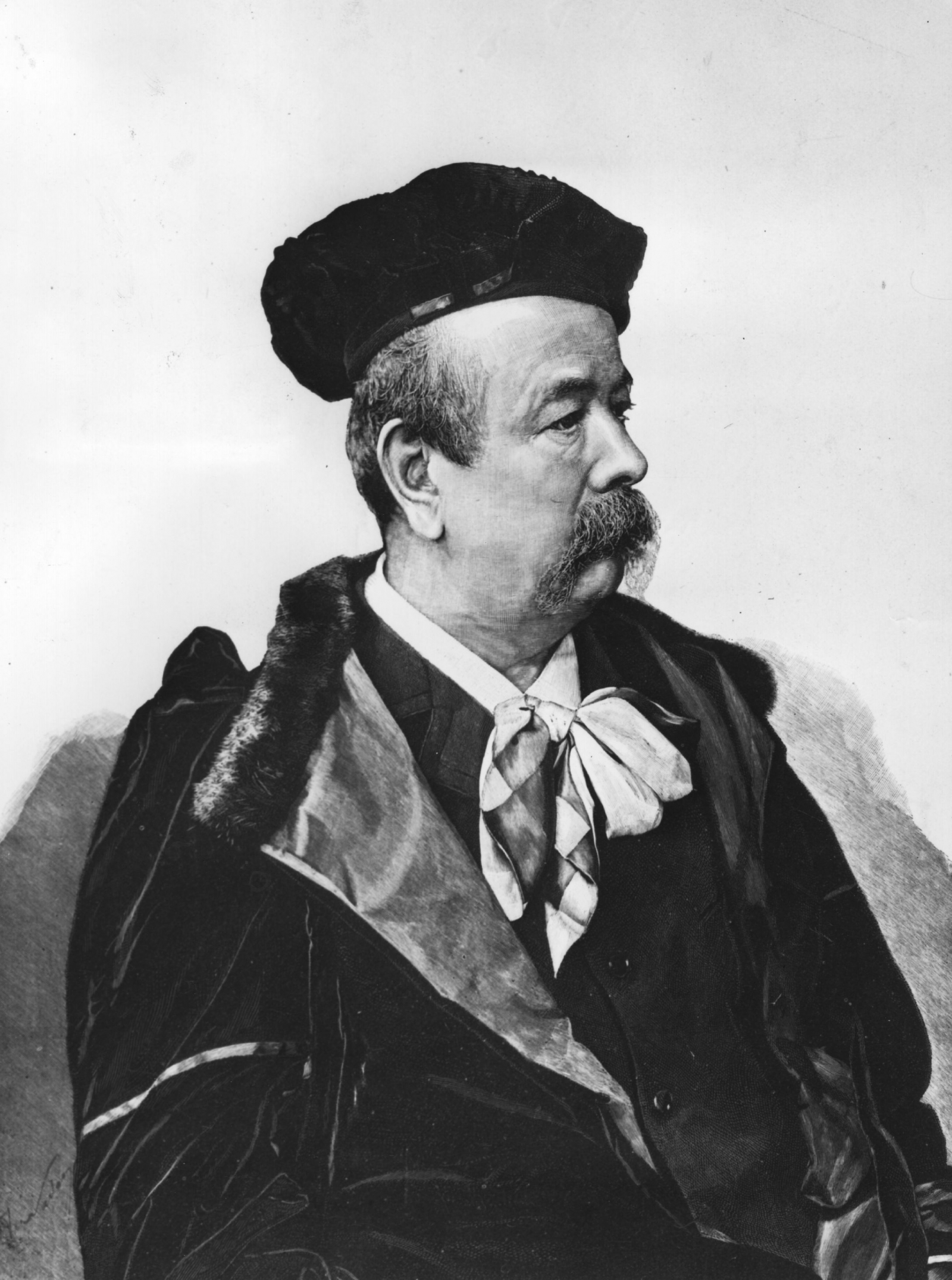 Charles Frederick Worth (Fot. Hulton Archive, Getty Images)