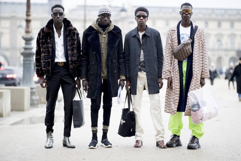 Komunikat mody męskiej