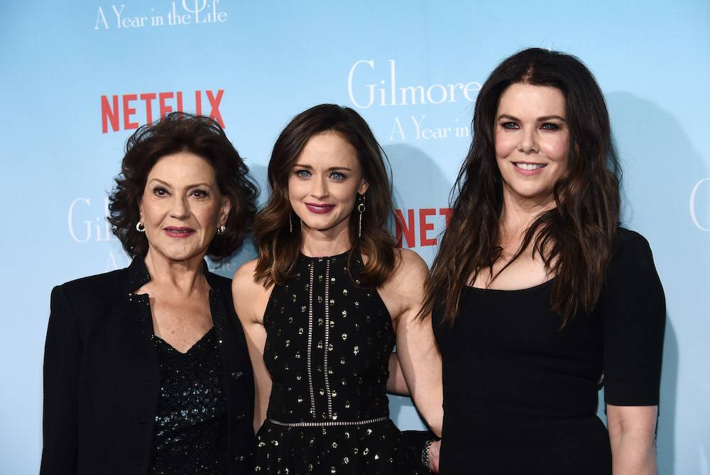 Kelly Bishop, Alexis Bledel, Lauren Graham (Fot. Getty Images)