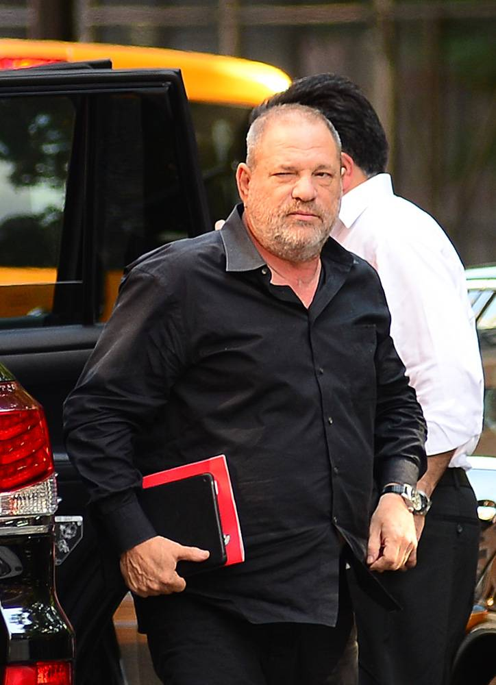 Harvey Weinstein w 2017 roku