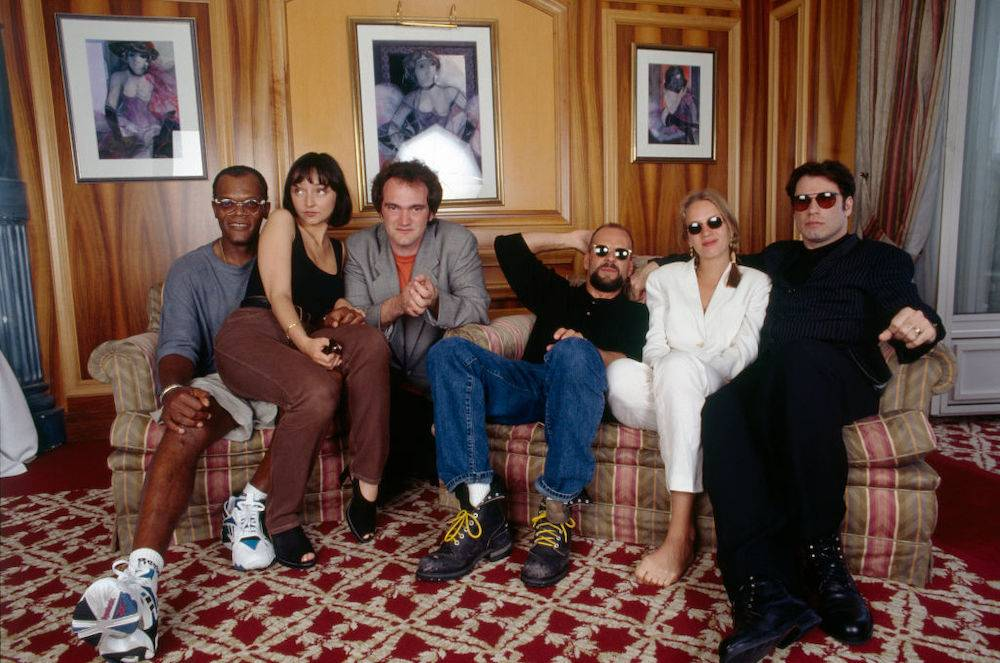 """Pulp Fiction"" w Cannes w 1994 roku (Fot. Getty Images)"