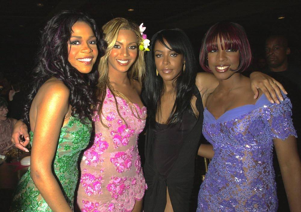 Michelle Williams, Beyoncé, Aaliyah, Kelly Rowland (Fot. Getty Images)