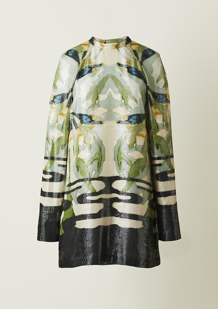 Sukienka z kolekcji H&M Conscious Exclusive 2018 (Fot. Materiały prasowe)