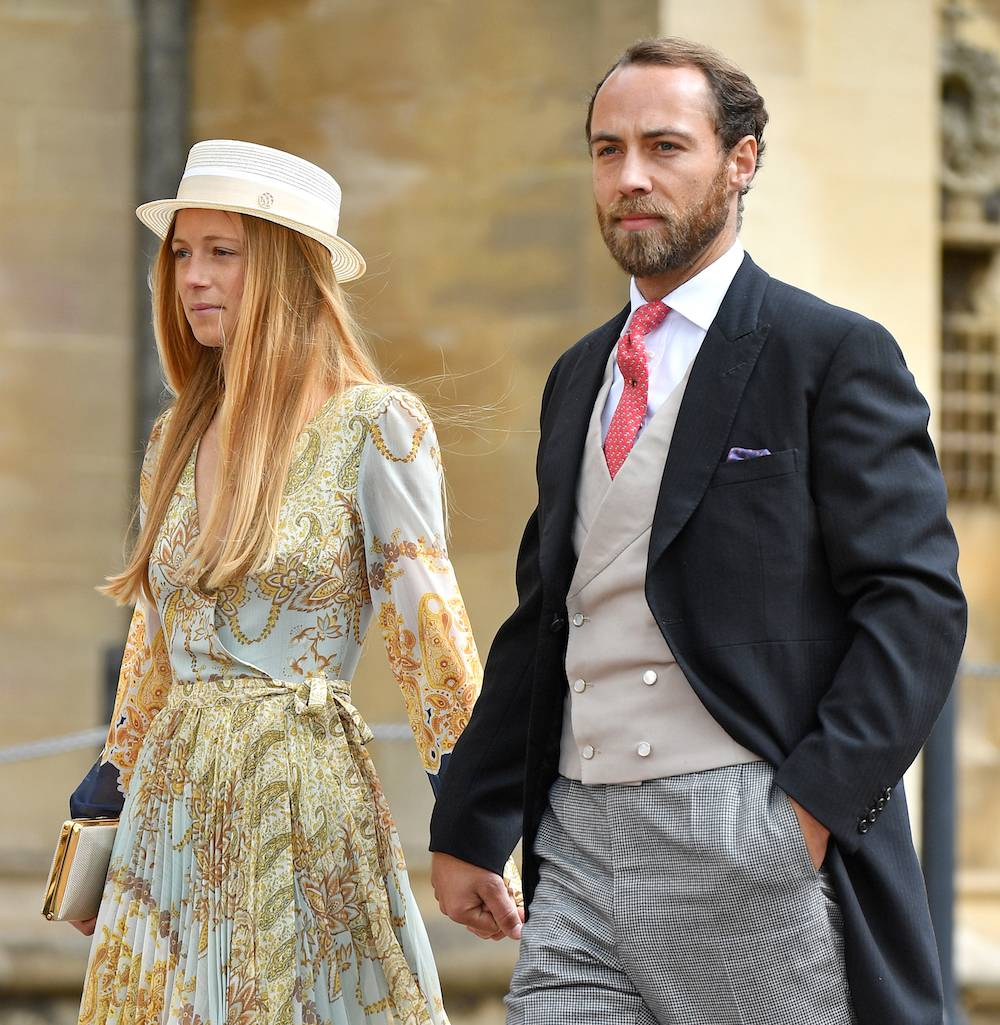James Middleton i Alizee Thevenet (Fot. Getty Images)
