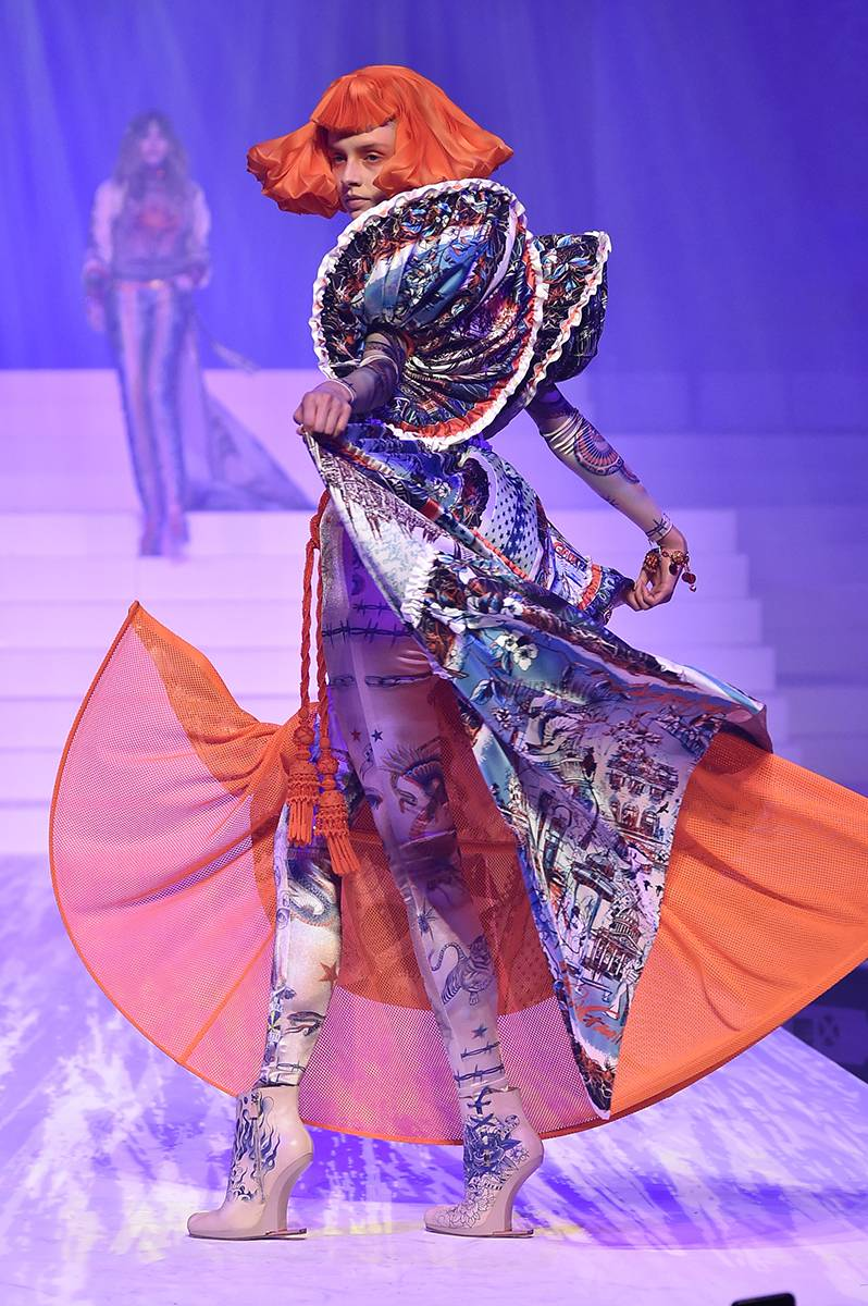 Jean-Paul Gaultier haute couture wiosna-lato 2020 (Fot. Getty Images)