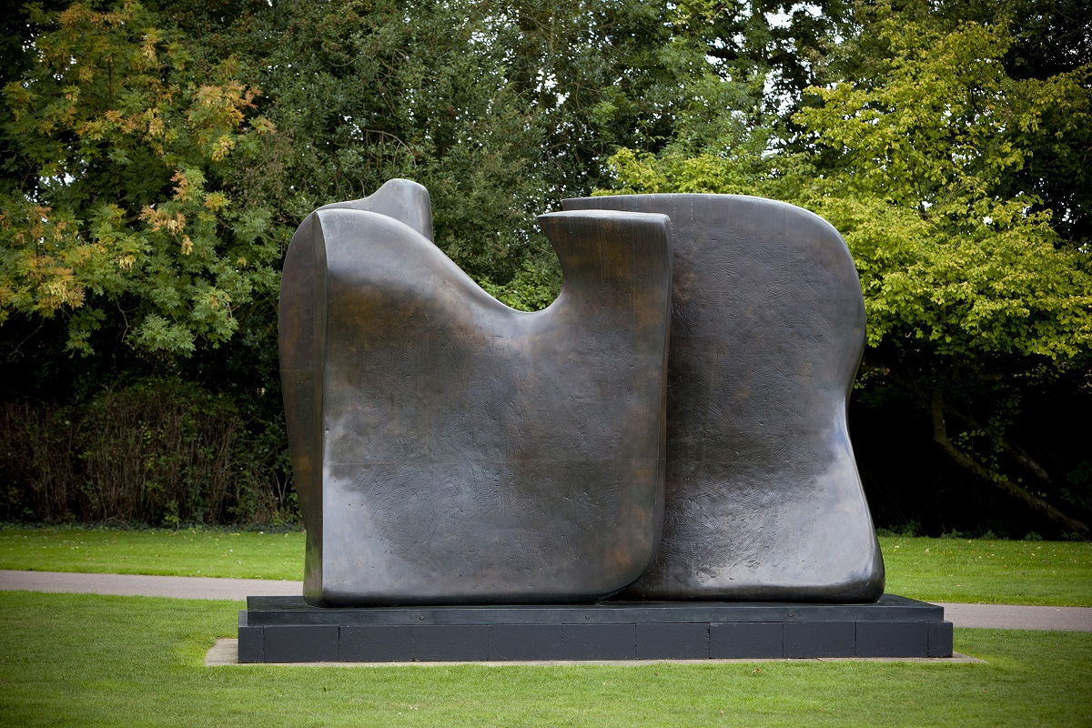 "Henry Moore, ""Knife Edge Two Piece 1962-65"""