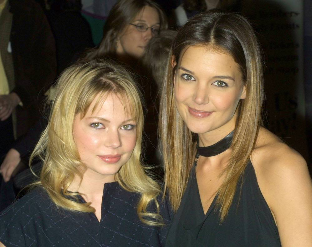 Michelle Williams i Katie Holmes (Fot. Getty Images)