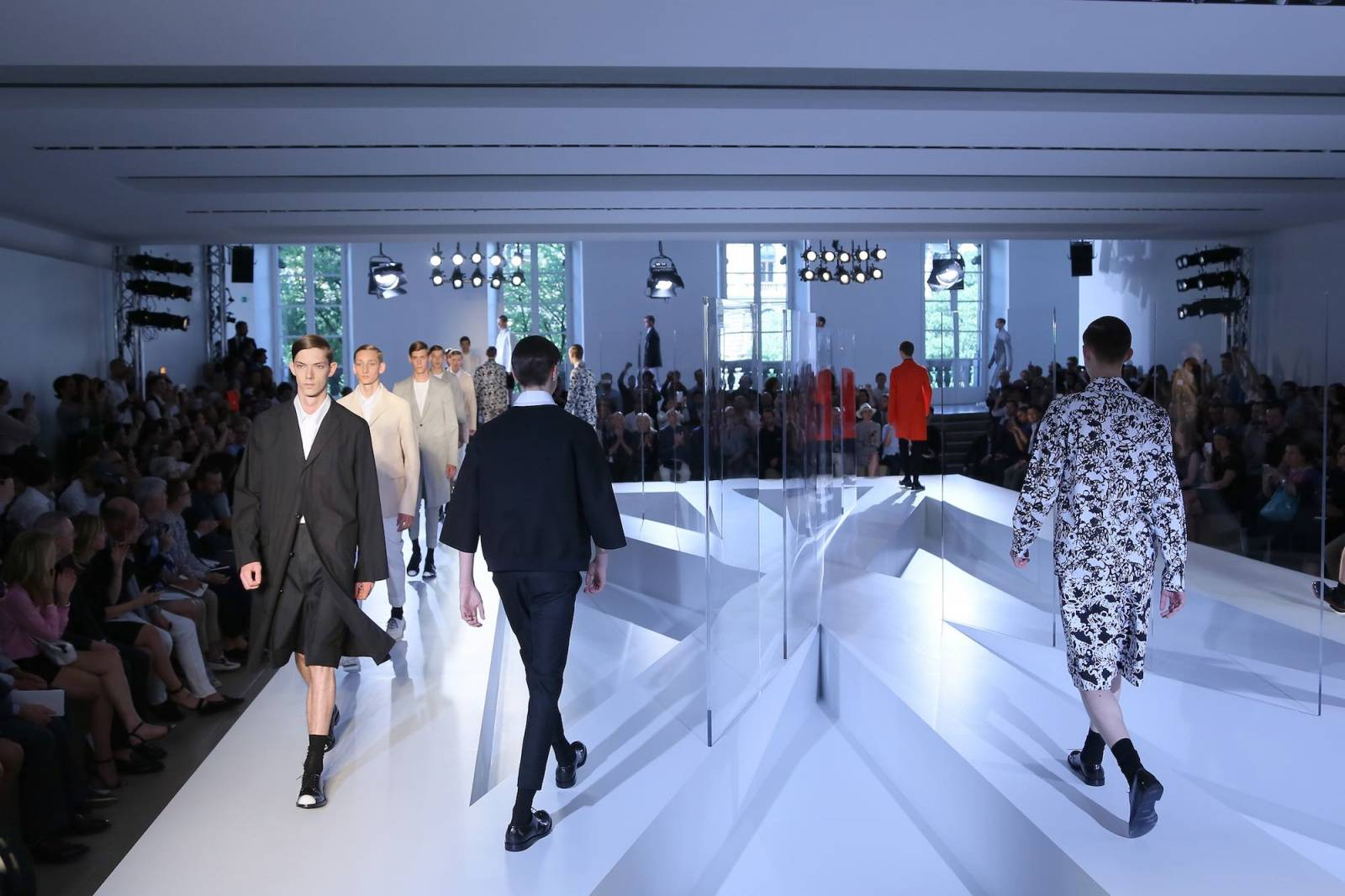 Jil Sander, Wiosna-lato 2014 (Fot. Getty Images)
