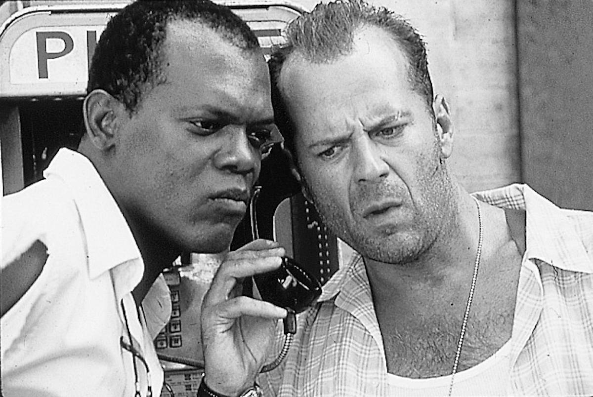 Bruce Willis i Samuel L. Jackson (Fot. East News)