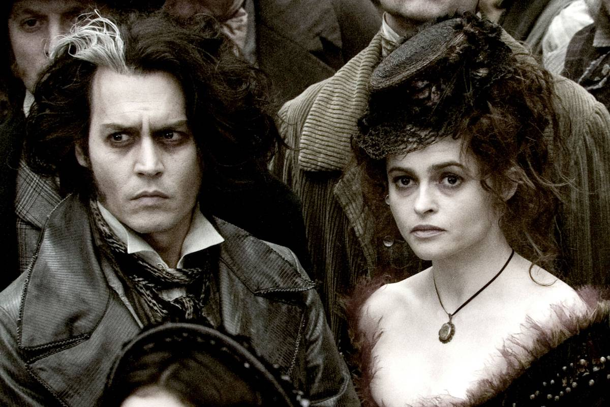 Helena Bonham Carter i Johnny Depp (Fot. East News)