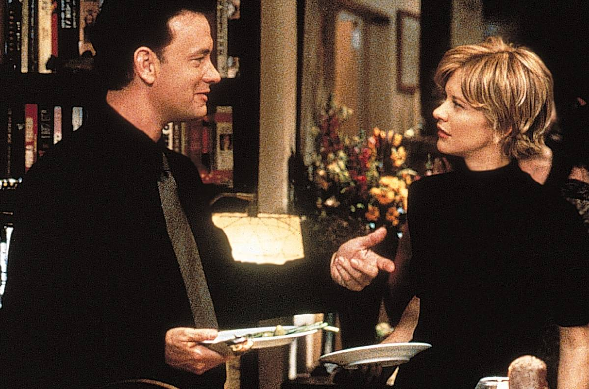 Meg Ryan i Tom Hanks (Fot. East News)