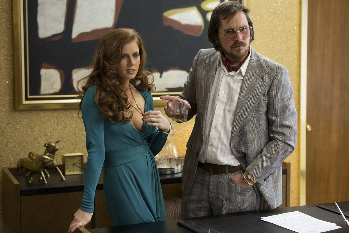 Amy Adams i Christian Bale (Fot. East News)