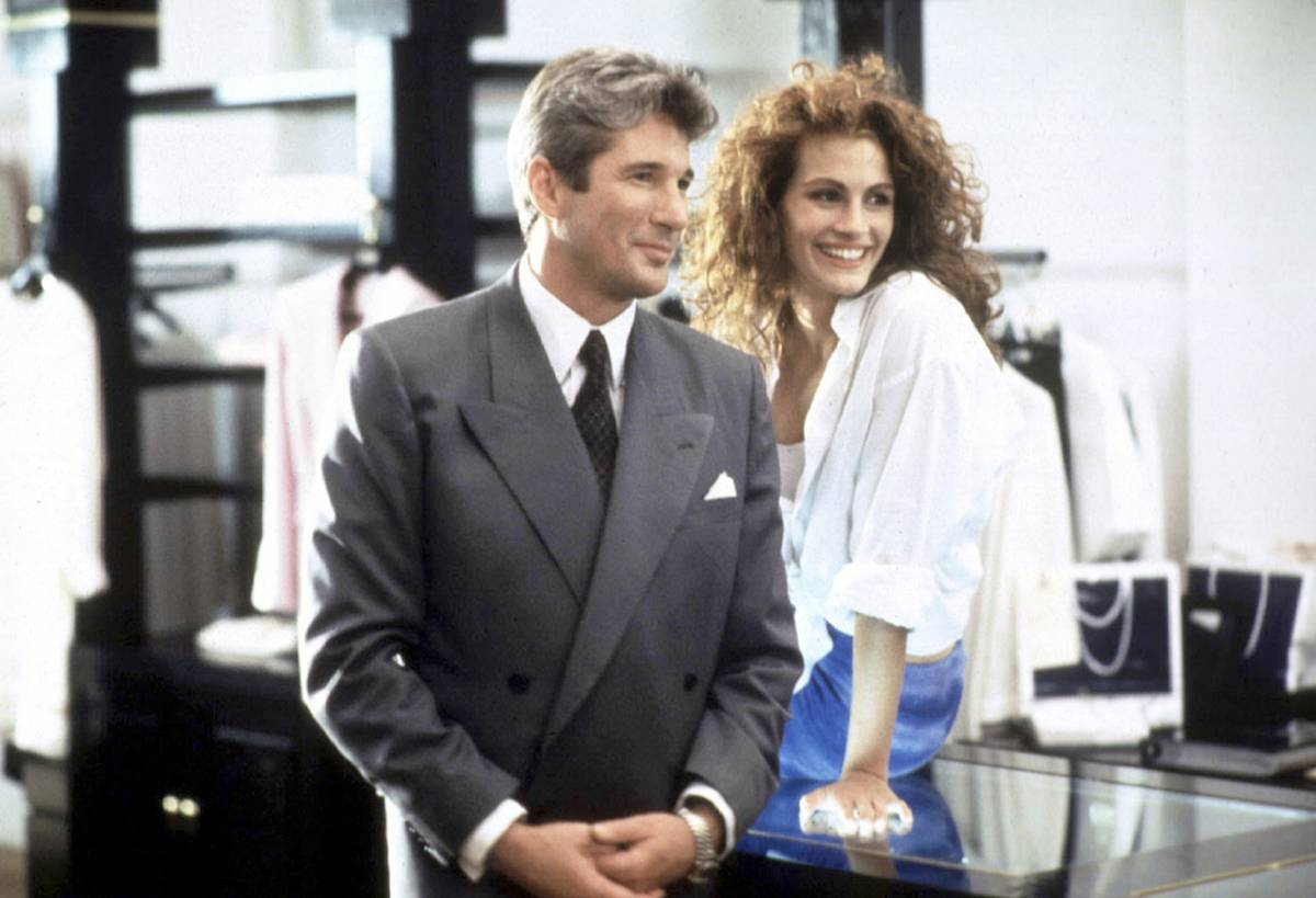 Julia Roberts i Richard Gere (Fot. East News)