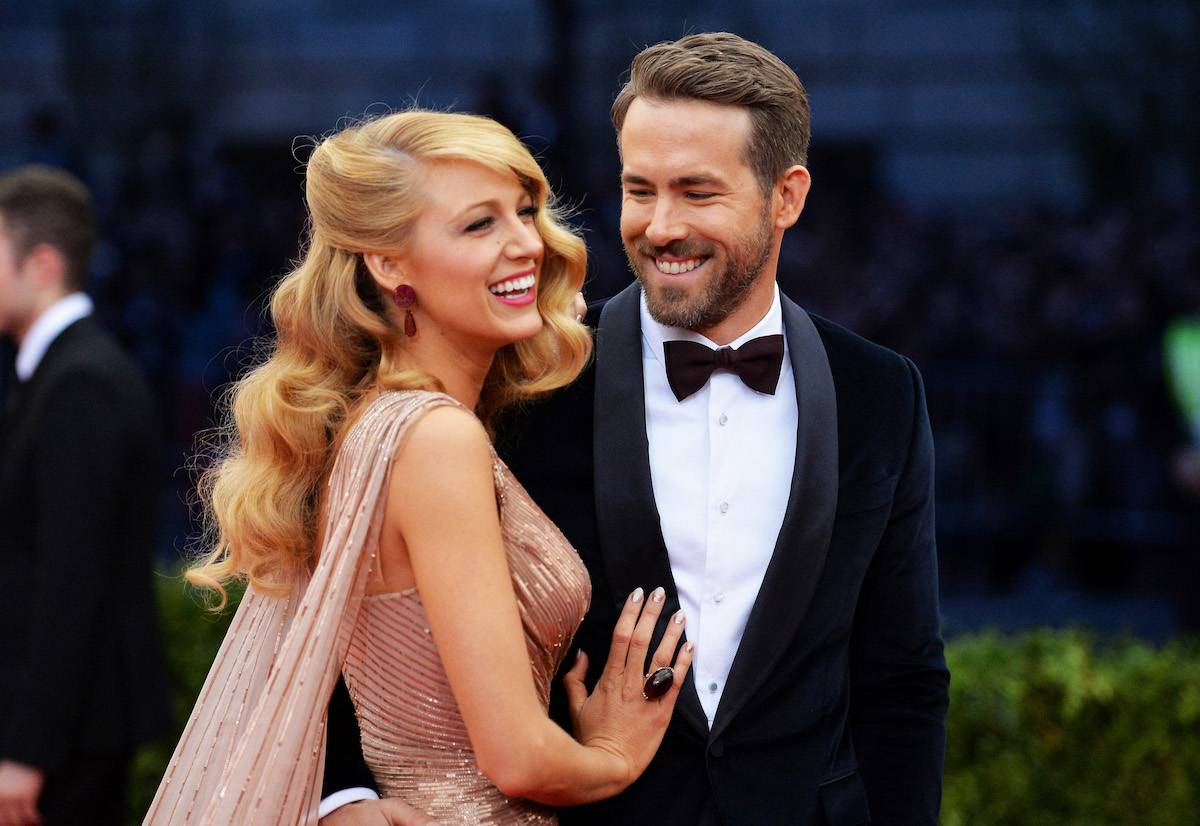 Blake Lively i Ryan Reynolds (Fot. Getty Images)