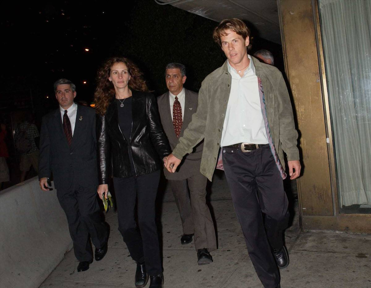 Julia Roberts i Danny Moder (Fot. Getty Images)
