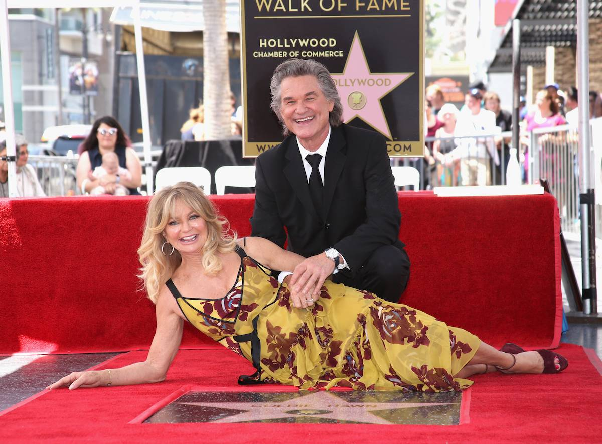 Kurt Russell i Goldie Hawn (Fot. Getty Images)