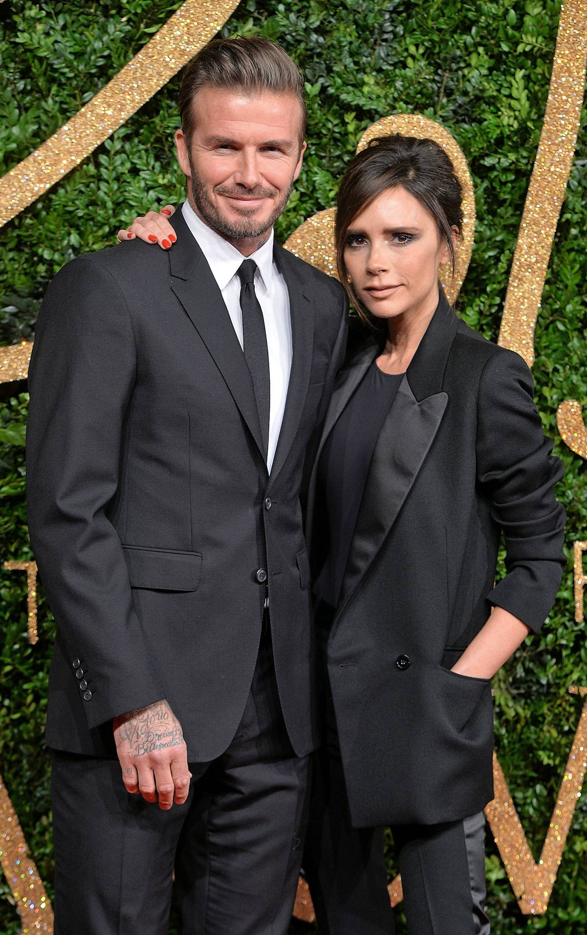 Victoria i David Beckhamowie (Fot. Getty Images)