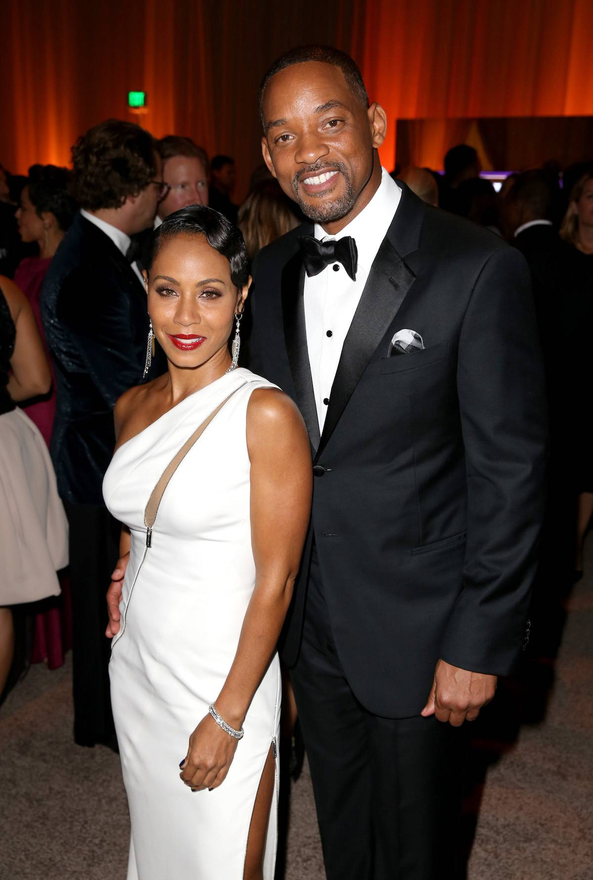 Will Smith i Jada Pinkett-Smith (Fot. Getty Images)