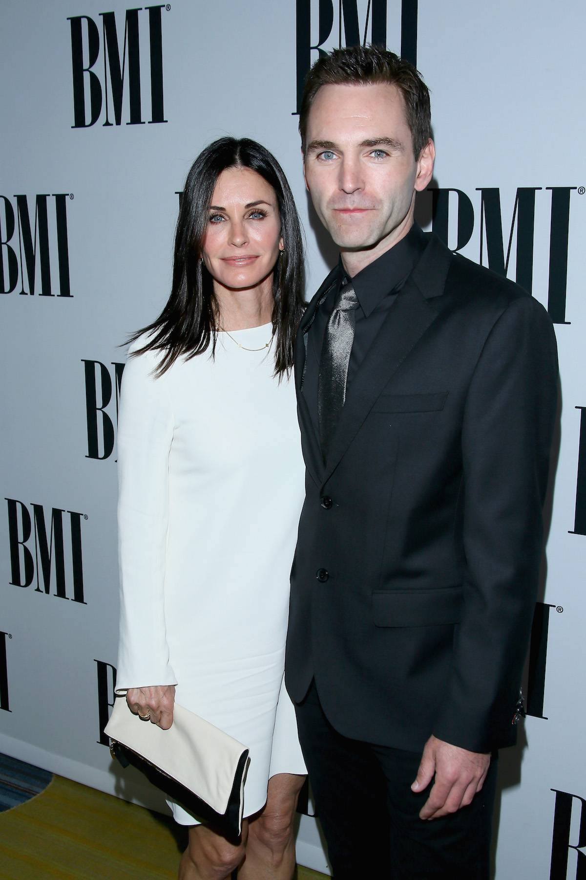 Courteney Cox i Johnny McDaid (Fot. Getty Images)