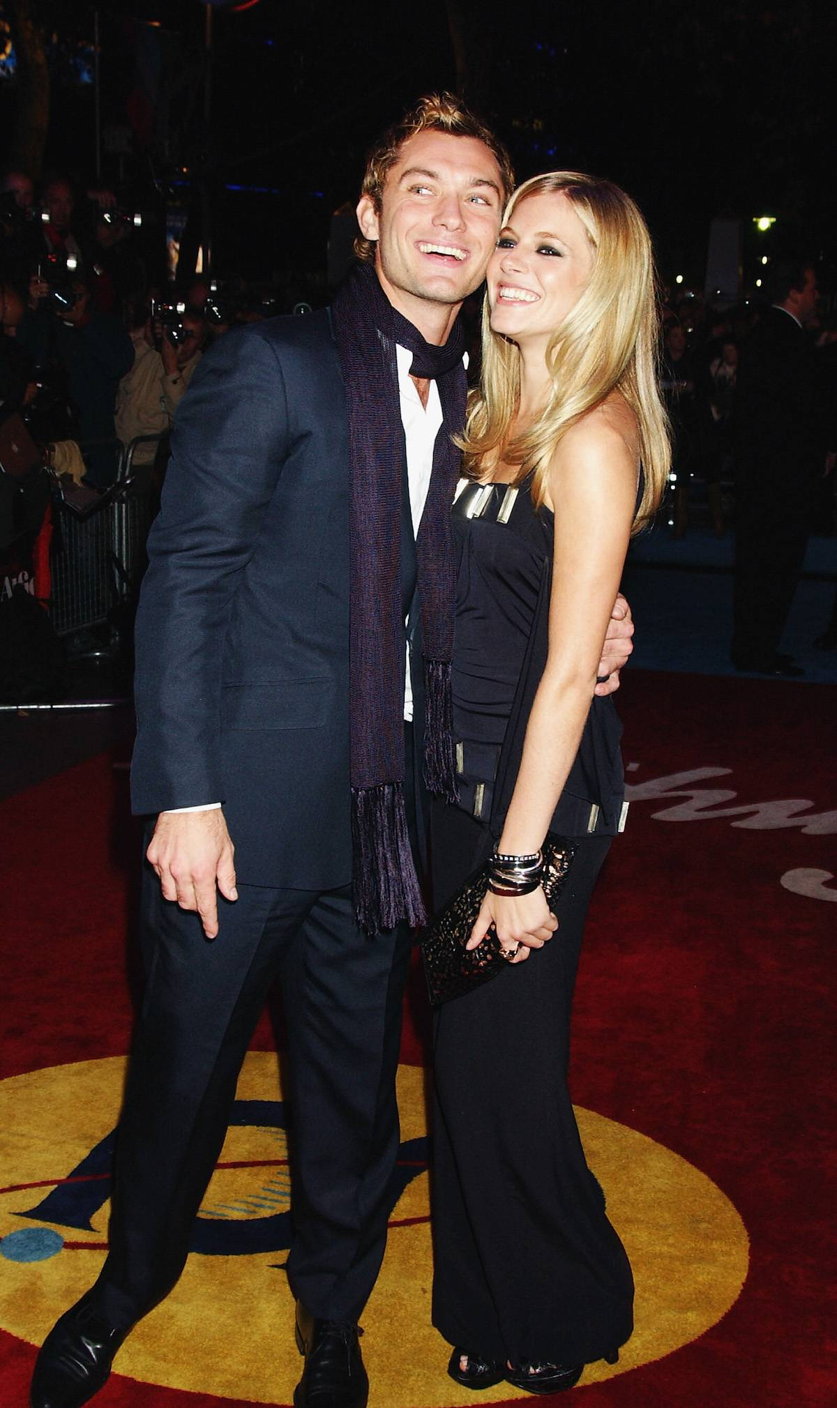 Sienna Miller i Jude Law (Fot. Getty Images)