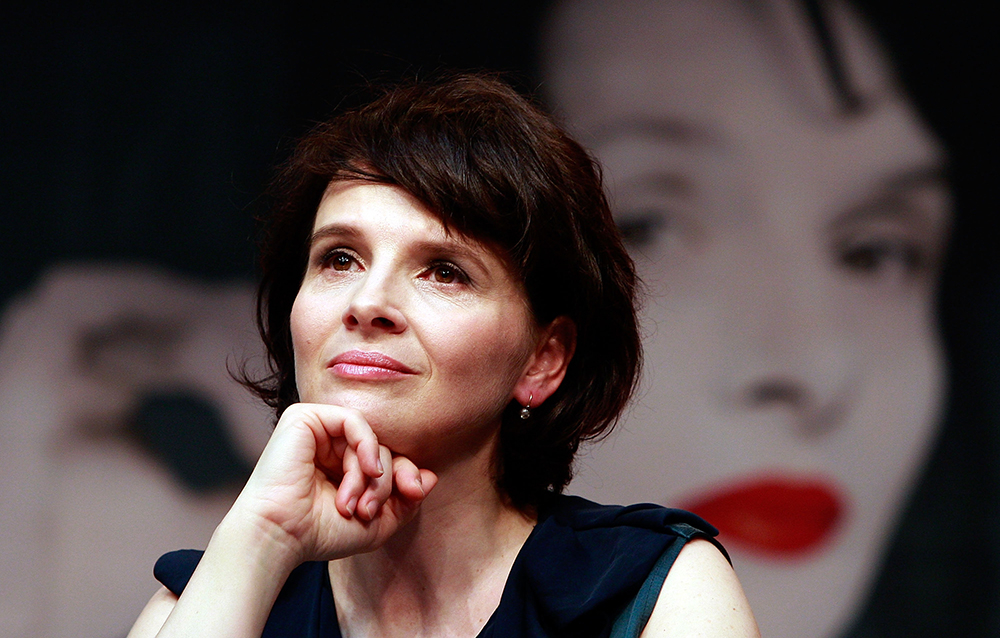 Juliette binoche skin care