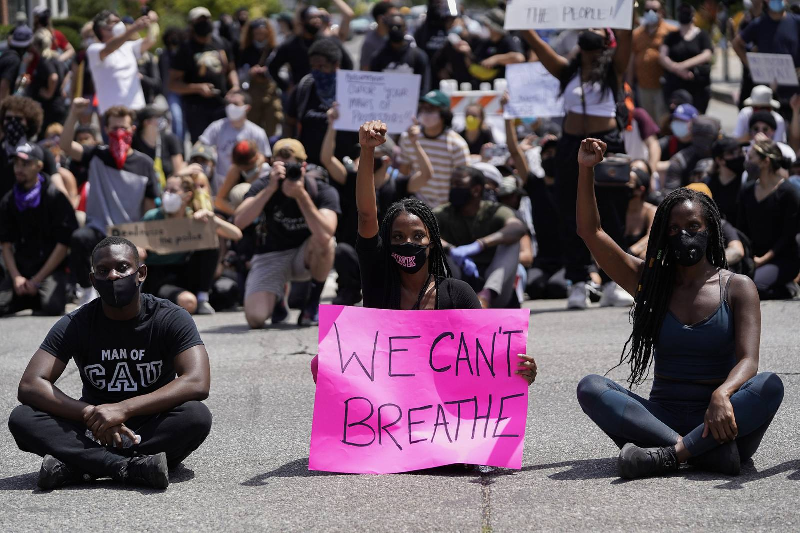 Protesty w Los Angeles (Fot. Warrick Page/Getty Images)