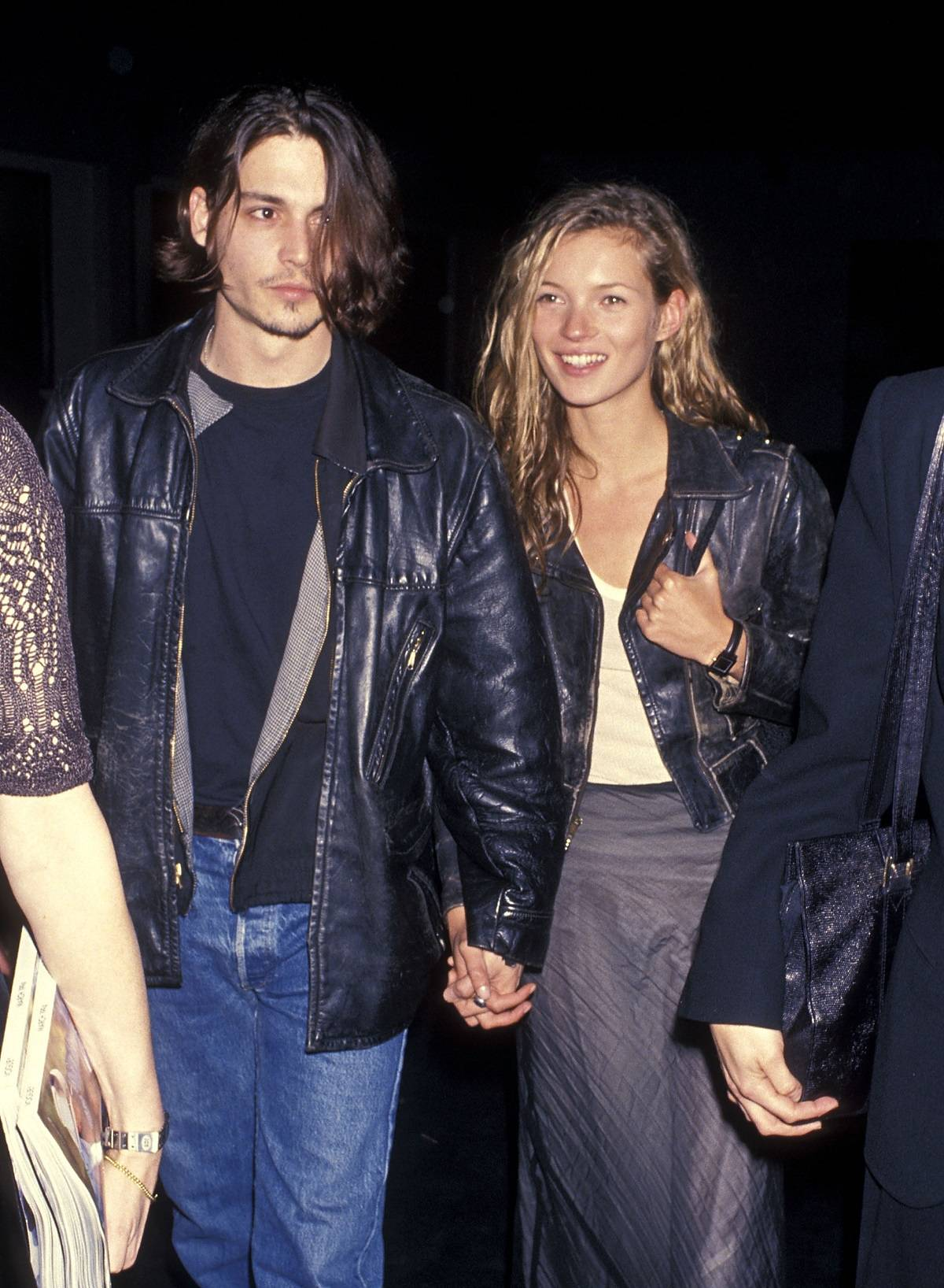 Kate Moss i Johnny Depp w 1994 roku