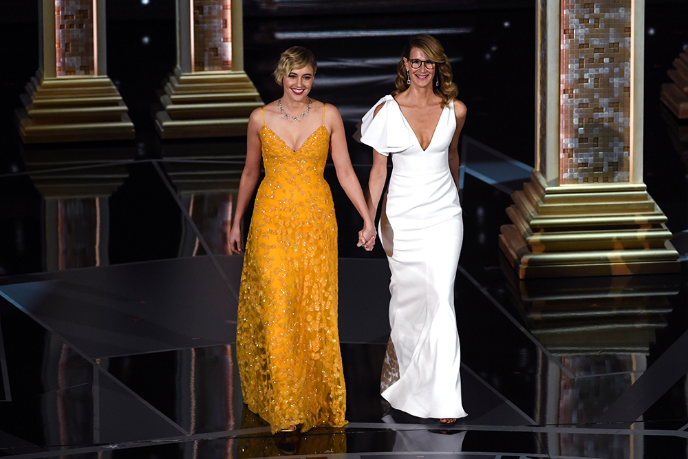 Greta Gerwig i Laura Dern (Fot. Kevin Winter, Getty Images)