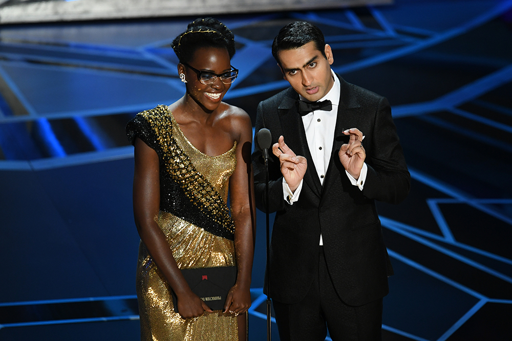 Lupita Nyongo i Kumail Nanjiani (Fot. Kevin Winter, Getty Images)