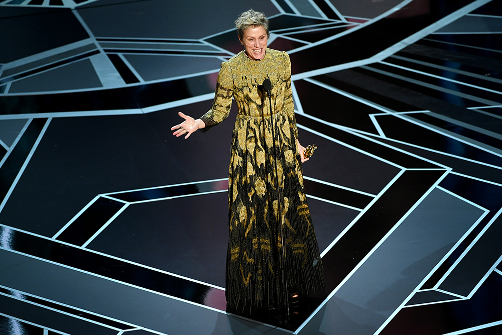 Frances McDormand (Fot. Kevin Winter, Getty Images)