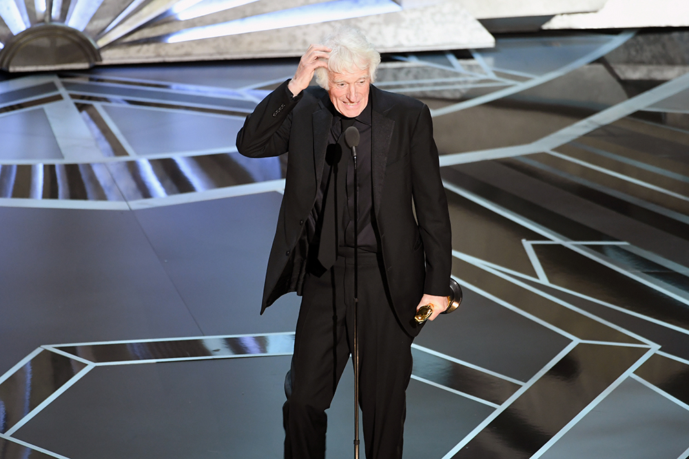 Roger A. Deakins (Fot. Kevin Winter, Getty Images)