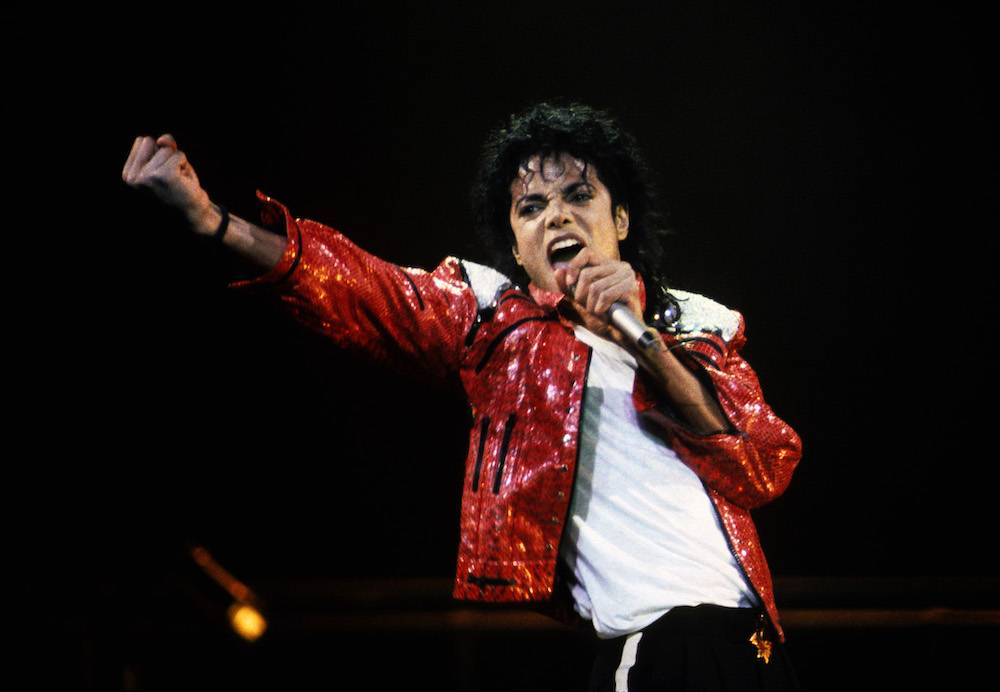 Michael Jackson na scenie (Fot. Getty Images)