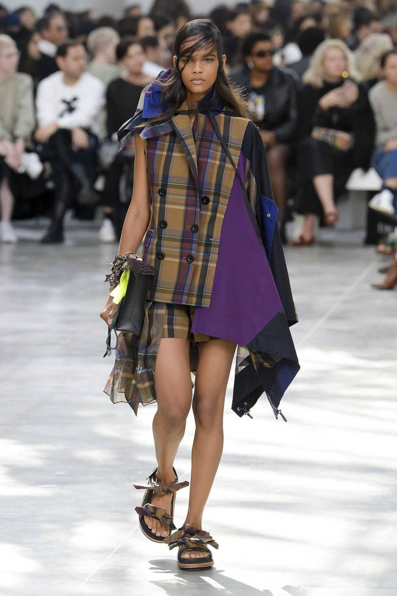 Sacai by Chitose Abe, Spring/Summer 2019. Credit: MONICA FEUDI / INDIGITAL.TV