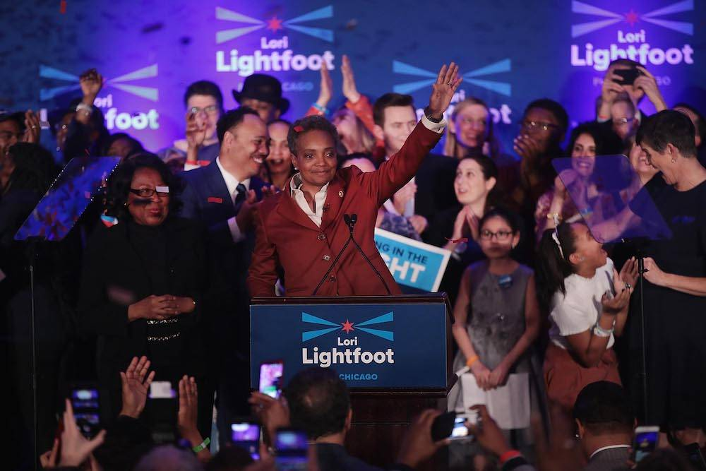 Lori Lightfoot wygrywa wybory w Chicago (Fot. Getty Images)