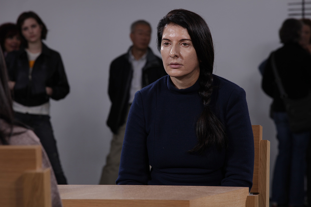 "Marina Abramović  ""The Artist is Present"""
